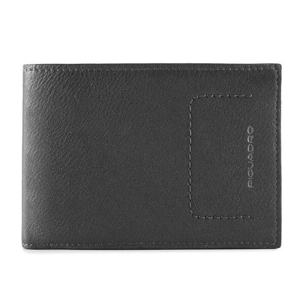 Мъжки портфейл Piquadro с отделения за карти и RFID защита