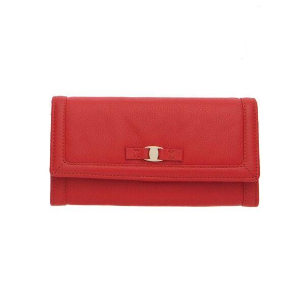 Дамско портмоне ROSSI цвят ягодово червен