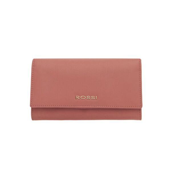 Дамско портмоне ROSSI, наситено розово