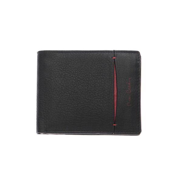 Мъжки портфейл Pierre Cardin, с цип и допълнително отделение за документи