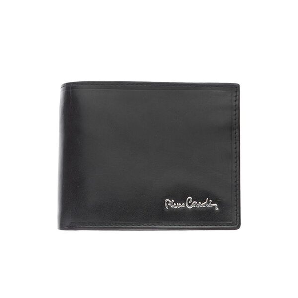 Мъжки портфейл Pierre Cardin с цип и допълнително отделение за документ
