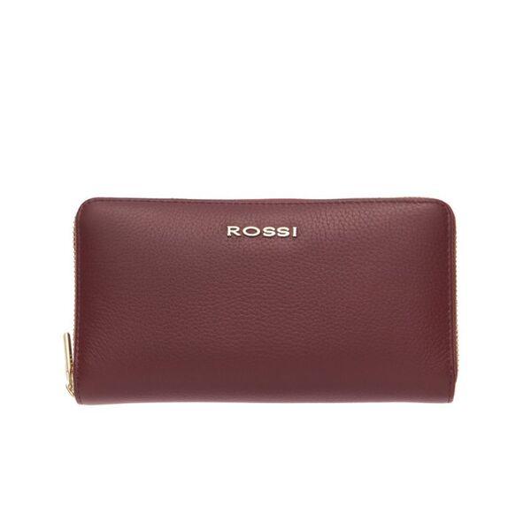 Дамско портмоне ROSSI, цвят бордо
