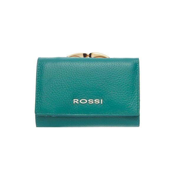 Малко дамско портмоне ROSSI, тюркоаз