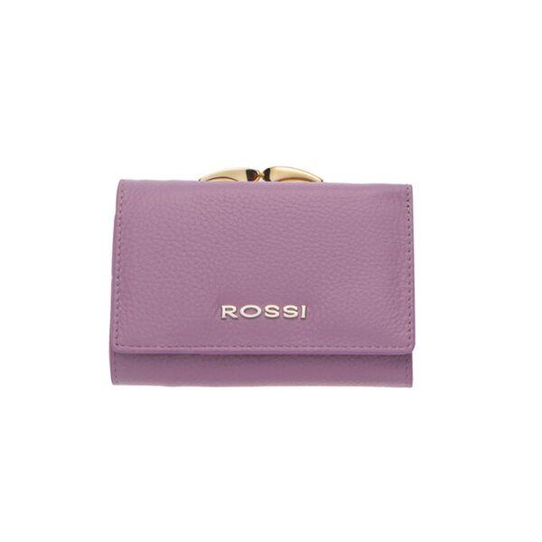 Малко дамско портмоне ROSSI, цвят лавандула