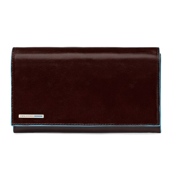 Дамски портфейл Piquadro с 16 отделения за кредитни карти