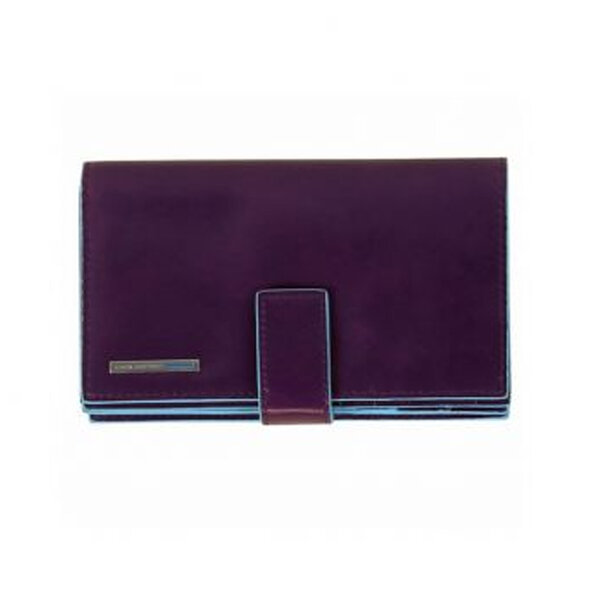 Дамски портфейл PIQUARDO от естествена кожа, лилав