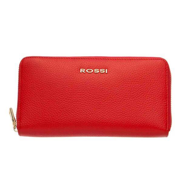 Дамско портмоне ROSSI, цвят червен