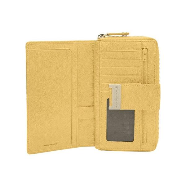 Дамски портфейл Piquadro, жълт