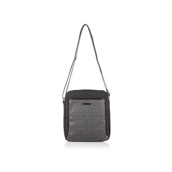 Мъжка чанта Pierre Cardin черно/сиво