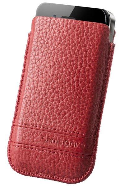 Кожен калъф Samsonite за телефон размер M Slim Classic leather