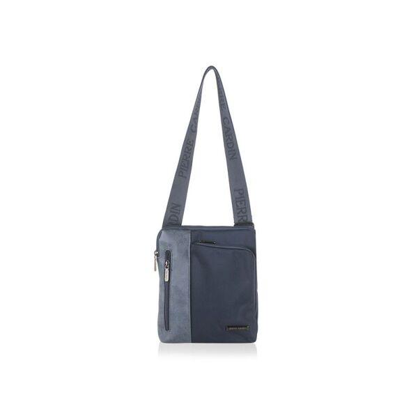 Мъжка чанта Pierre Cardin плат и еко кожа