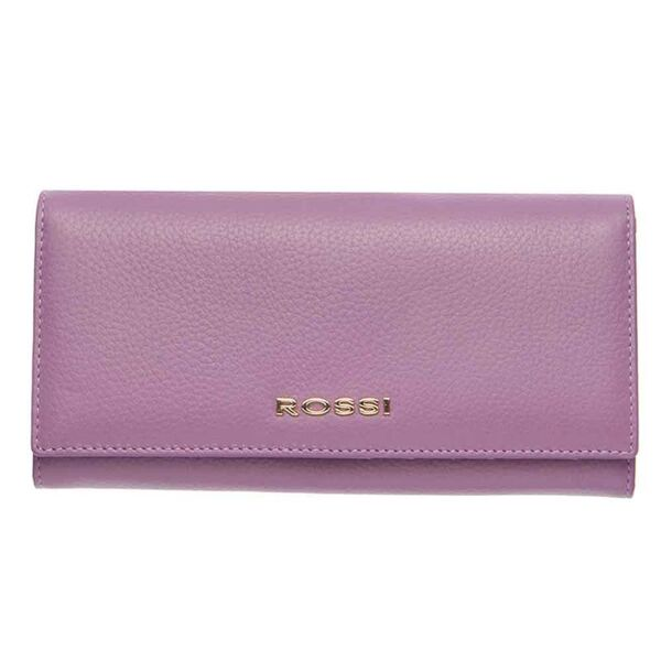 Дамско портмоне ROSSI, цвят лавандула