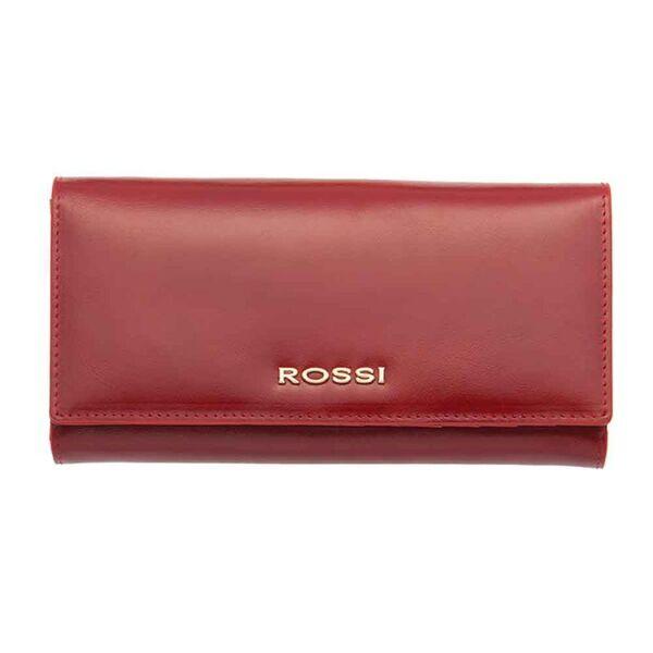 Дамско портмоне ROSSI,  цвят маслено червено