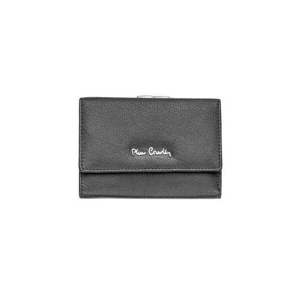 Дамско портмоне PIERRE CARDIN с мека кожа и външен монетник