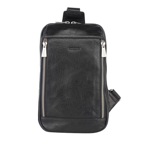 Мъжка чанта за през рамо CHIARUGI, черна