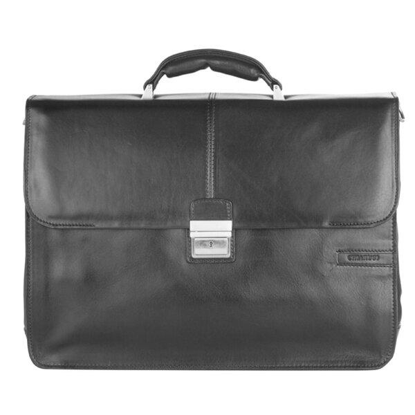 Класическа бизнес чанта CHIARUGI, от естествена кожа