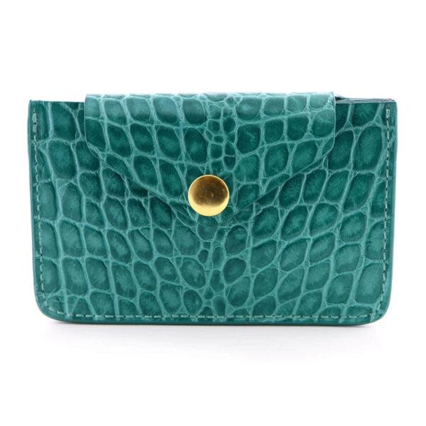 Мини дамско портмоне от естествена кожа Coldfire - Oliviya Color Vibes
