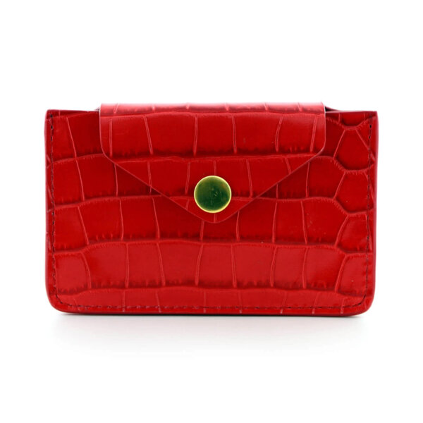 Мини дамско портмоне от естествена кожа Coldfire - Alissa Color Vibes