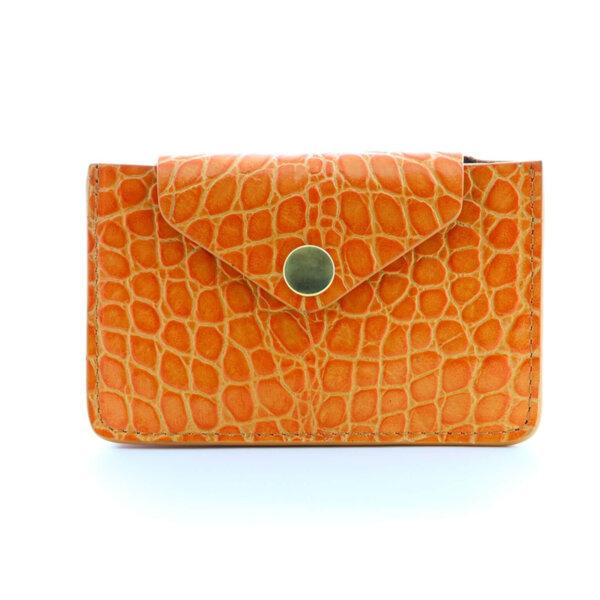 Мини дамско портмоне от естествена кожа Coldfire - Amaya Color Vibes
