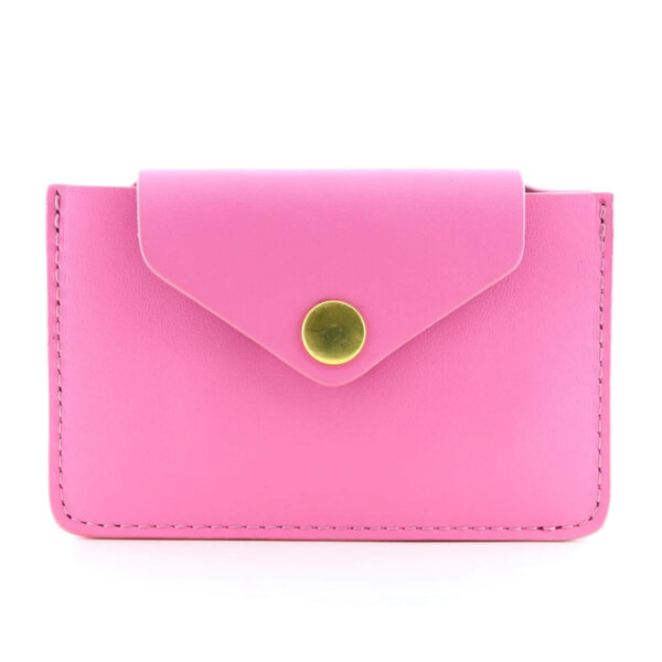 Мини дамско портмоне от естествена кожа Coldfire - Candy Color Vibes