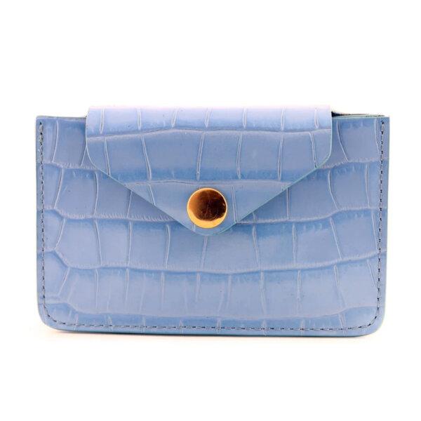 Мини дамско портмоне от естествена кожа Coldfire - Felisity Color Vibes