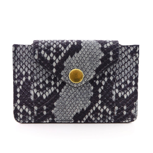 Мини дамско портмоне от естествена кожа Coldfire - Katalina Color Vibes