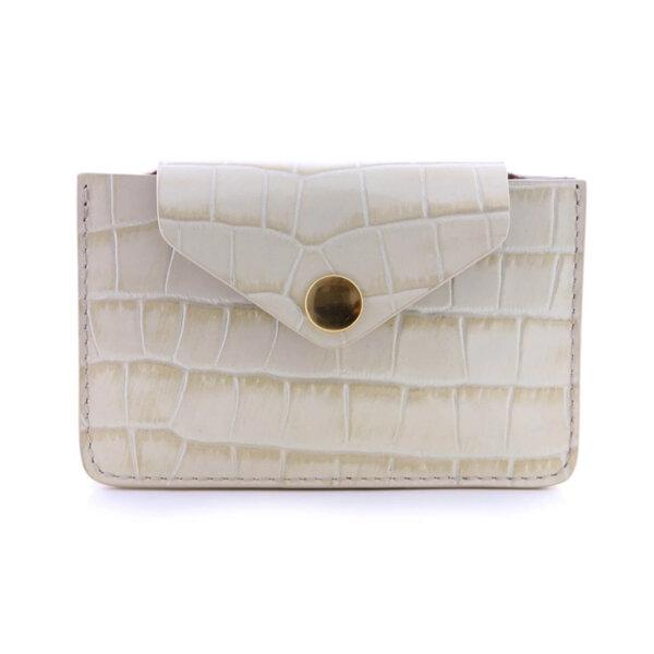 Мини дамско портмоне от естествена кожа Coldfire - Linda Color Vibes