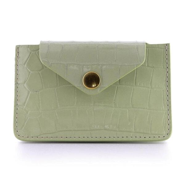 Мини дамско портмоне от естествена кожа Coldfire - Lisa Color Vibes