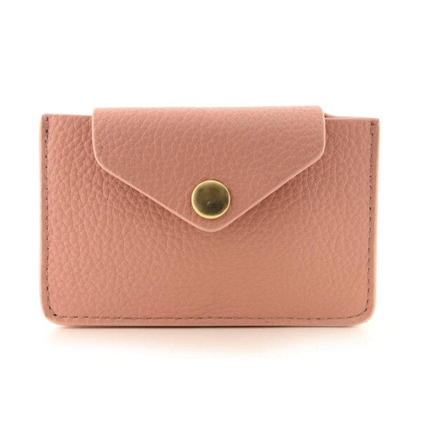 Мини дамско портмоне от естествена кожа Coldfire - Sofia Color Vibes