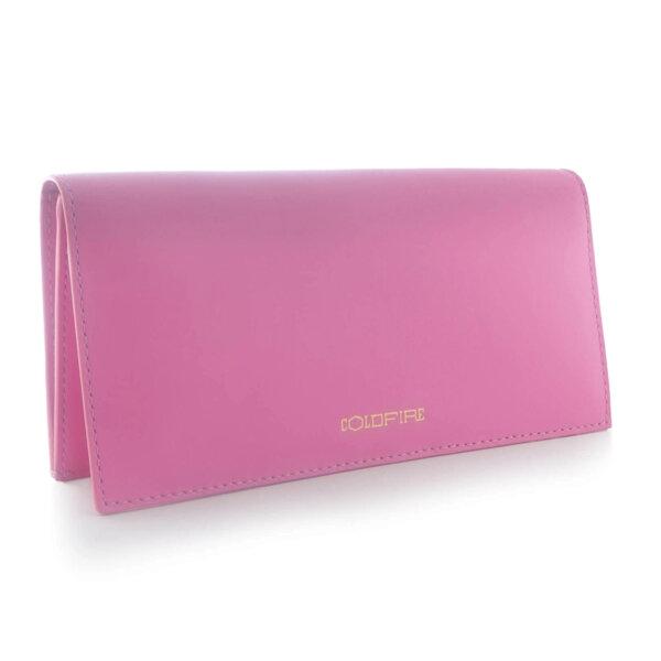 Дамско портмоне с капак Coldfire, от естествена кожа - Candy Color Vibes