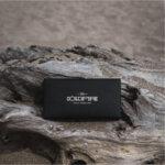 Дамско портмоне Coldfire Tactical Elegance от естествена кожа и карбон - RFID Защита, златно