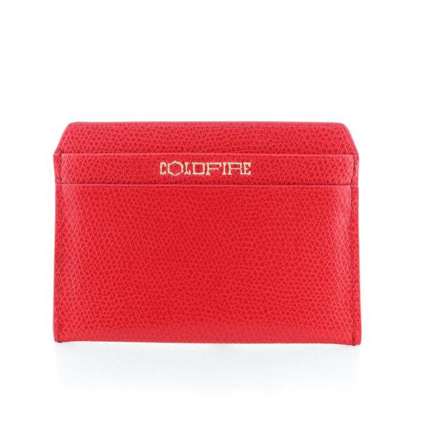 Kалъф за кредитни карти от естествена кожа Coldfire - Ares Color Vibes