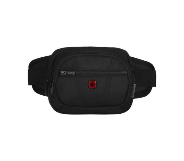 Чанта за кръст Wenger - BC Side Waist, полиестер, черна