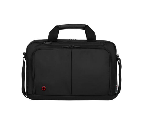 Бизнес чанта Wenger - Source, за лаптопи до 14'', полиестер, сива