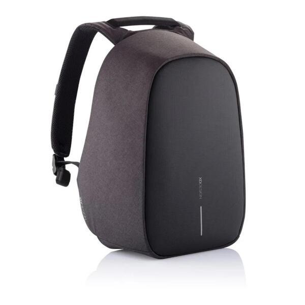 Раница XD Design - Bobby Hero Small, защита от кражби, USB порт, черна