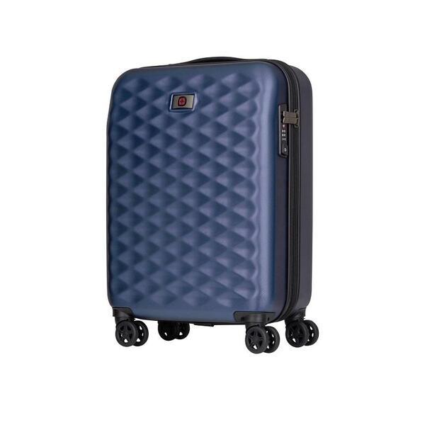 Куфар Wenger - Lumen Hardside Luggage, 32л, поликарбонат/алуминий, син