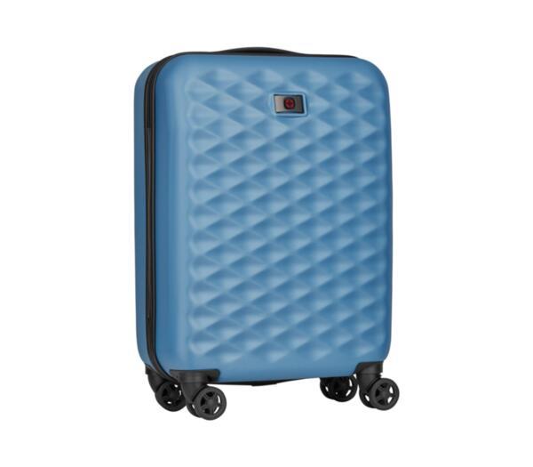 Куфар Wenger - Lumen Hardside Luggage, 32л, поликарбонат/алуминий, тюркоаз