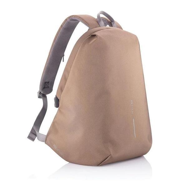 Раница XD Design - Bobby Soft, RFID защита,  USB порт, защита от кражба, бежова