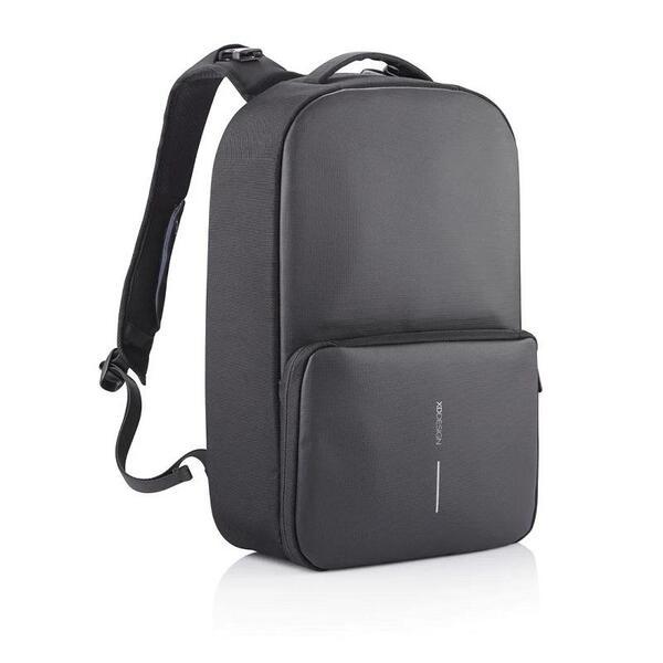 "Раница XD Design - Flex Gym Bag, за лаптопи до 15.6"", RFID джоб, USB порт, черна"