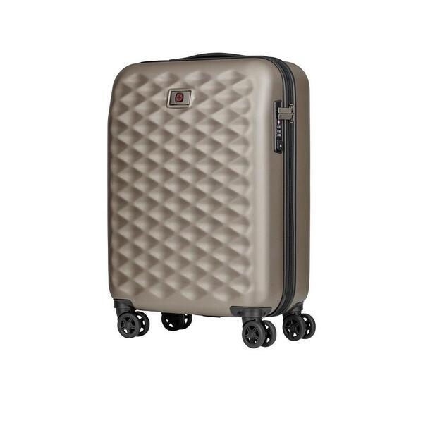 Куфар Wenger - Lumen Hardside Luggage, 32л, поликарбонат/алуминий, бежов