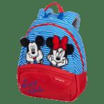 Детска раничка размер Disney Ultimate 2.0 Minnie/mickey strip