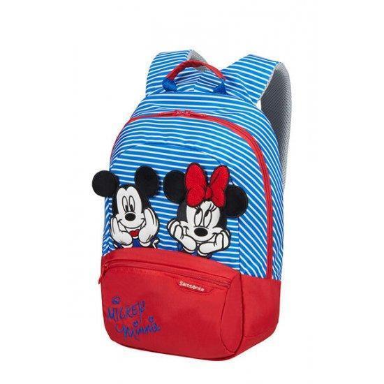Детска раничка размер S+ Disney Ultimate 2.0 Minnie/mickey strip