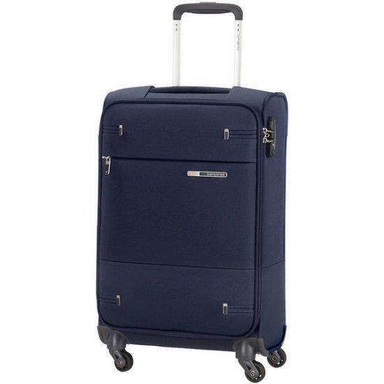 Спинер за ръчен багаж на 4 колела Base Boost 35см широчина син цвят