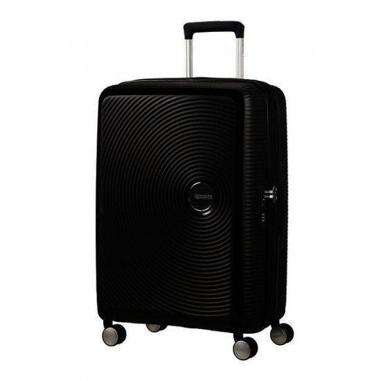 Soundbox спинер на 4 колела 67cm с разширение в черен цвят