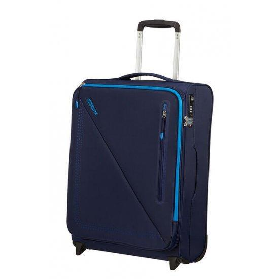 American Tourister Lite Volt Куфар на 2 колела 55 см тъмно синьо/светло синьо