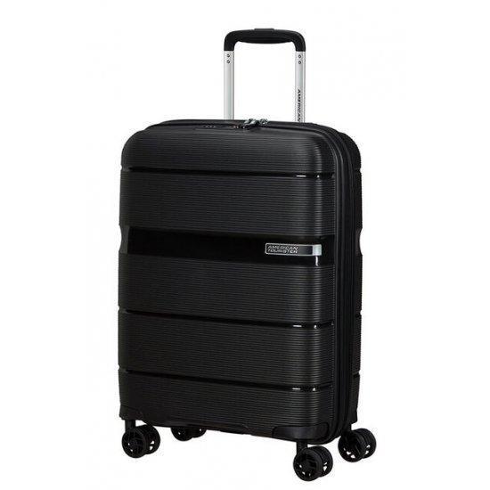 American Tourister Linex спинер 55 см, черен цвят