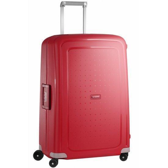 Спинер на 4 колела S'Cure 75 см пурпурно червен цвят, голям размер