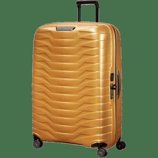 Куфар на 4 колела Samsonite Proxis 81см. златист