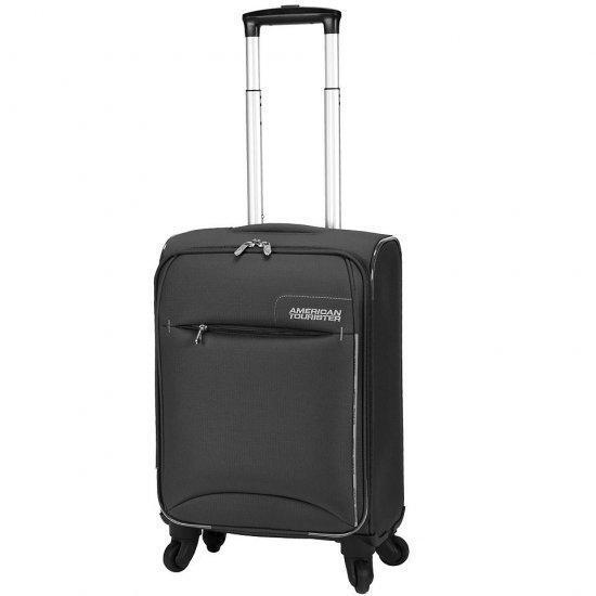 Куфар на 4 колела American Tourister Marbella 55 см. черен