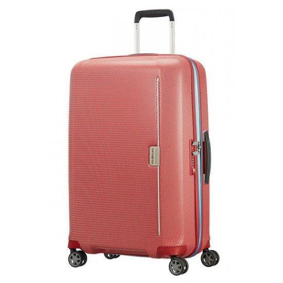 Куфар на 4 колела Samsonite Mixmesh 69 см, червен